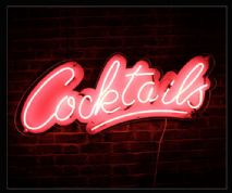 Cocktails Neon Sign 2